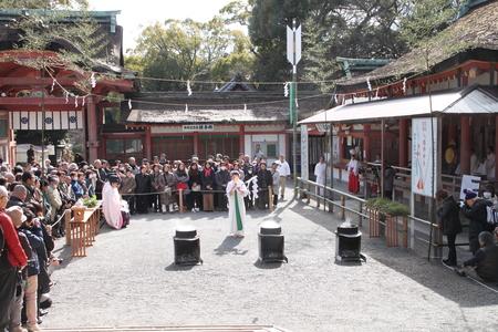 男山八幡宮 湯炊き神楽_e0048413_1883515.jpg