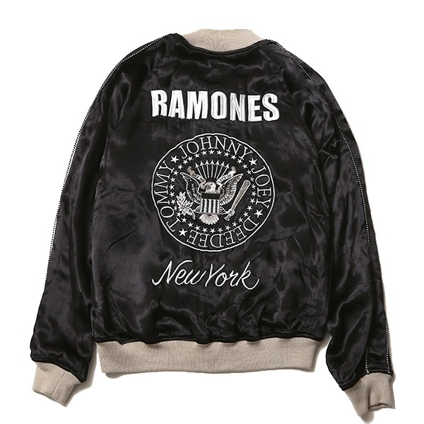 RAMONES MEETS RUDE GALLERY SOUVENIR JACKET_d0100143_14312273.jpg