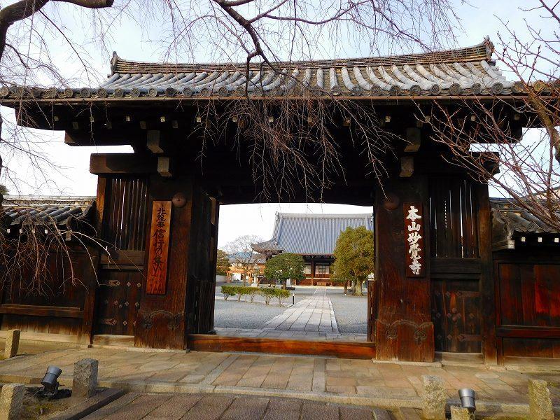 妙覚寺(信長のもうひとつの京やど)20170107_e0237645_00422904.jpg