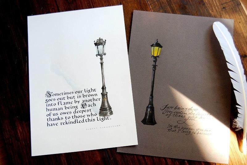 ファンデーショナル体 外灯の絵に。作品展にて_b0165872_18143598.jpg