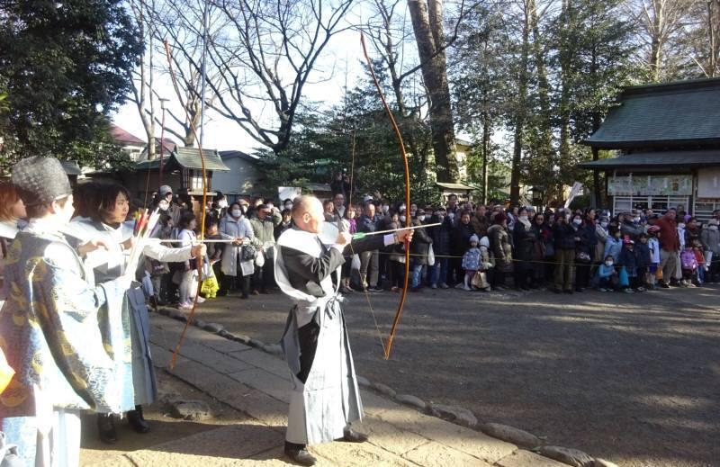 小平神明宮 節分追儺祭_f0059673_08100344.jpg