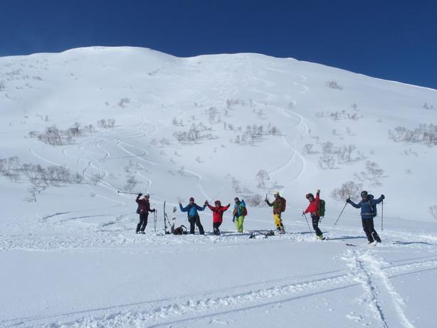 """2017年2月 『人生最良のパウダースキー・デー』 February 2017 \""""The Best Day of Powder Ski\""""_c0219616_22425963.jpg"""