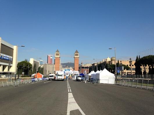 バルセロナマラソンへ☆ Day 1~到着&マルシェでランチ_e0303431_16581295.jpg