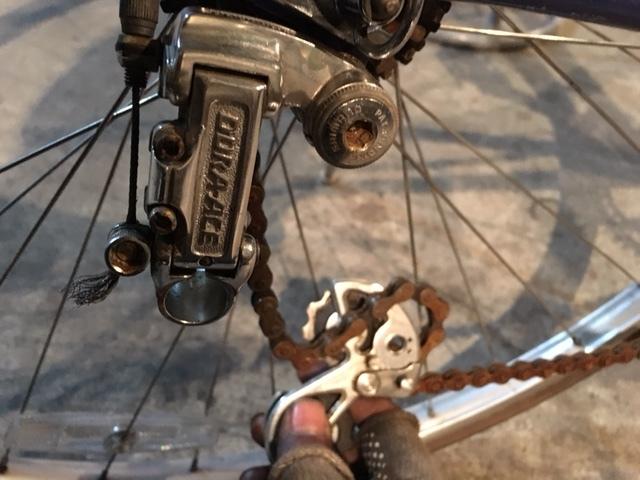 SANNOWロードバイクの整備_e0365651_21152302.jpg