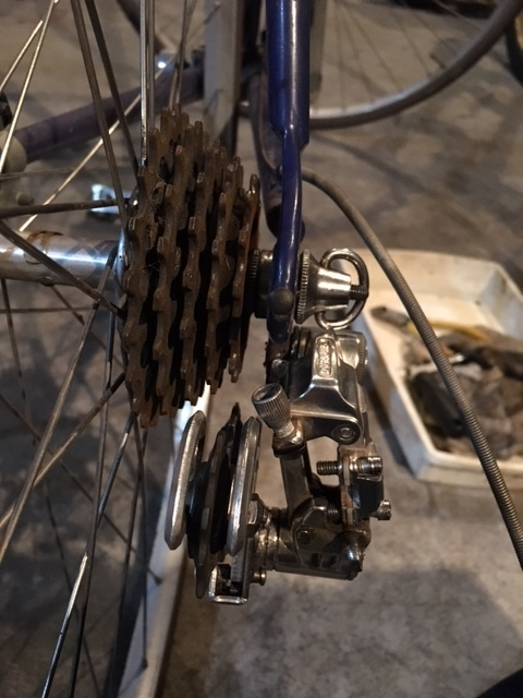 SANNOWロードバイクの整備_e0365651_21153493.jpg