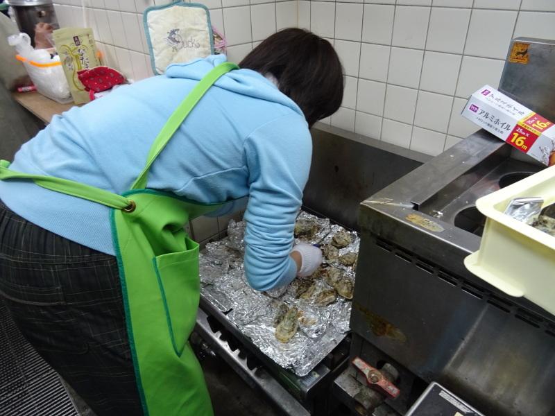 『みんなでワカメを育てよう:収穫祭』・・・せんなん里海公園_c0108460_20505357.jpg