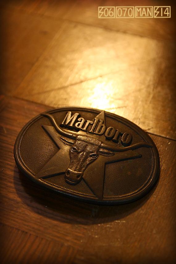 マルボロ ロングホーン真鍮製バックル ブラス Marlboro_e0243096_13360688.jpg