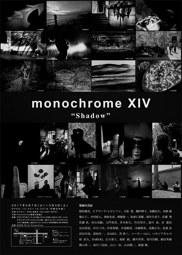 monochrome XIV「Shadow」明日2月7日(火)から始まります!_b0194208_10414199.jpg