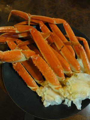赤い蟹と旨い白_f0034816_3415692.jpg