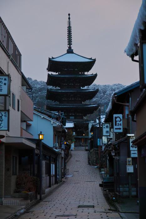 京都    1/16 東山  雪景色_f0021869_23291628.jpg