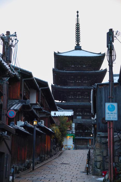 京都    1/16 東山  雪景色_f0021869_23294351.jpg