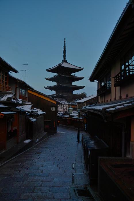 京都    1/16 東山  雪景色_f0021869_23301278.jpg