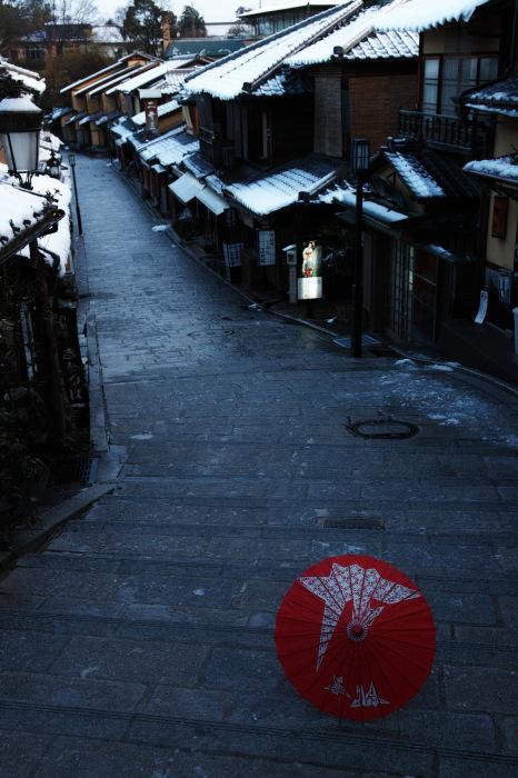 京都    1/16 東山  雪景色_f0021869_23304481.jpg