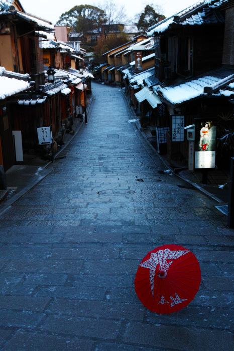 京都    1/16 東山  雪景色_f0021869_23311135.jpg