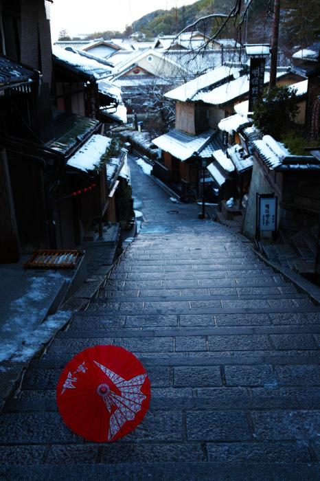 京都    1/16 東山  雪景色_f0021869_23314230.jpg