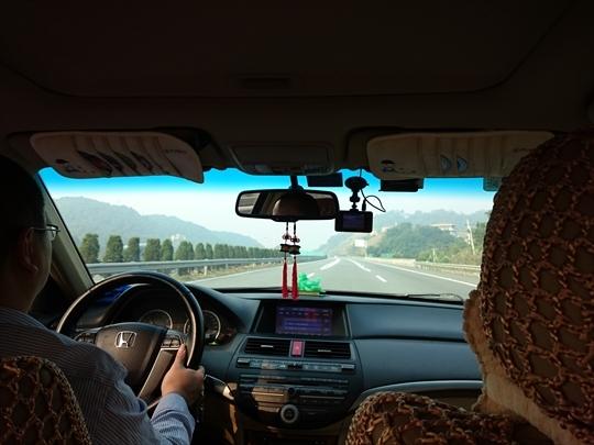 家族旅行2016年12月-中国上海、厦門ー第六日目-(II)福建土楼-ドライブ_c0153302_17231205.jpg