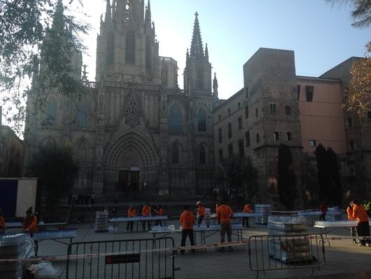 バルセロナマラソンへ☆ Day 2~マラソン大会_e0303431_18442336.jpg