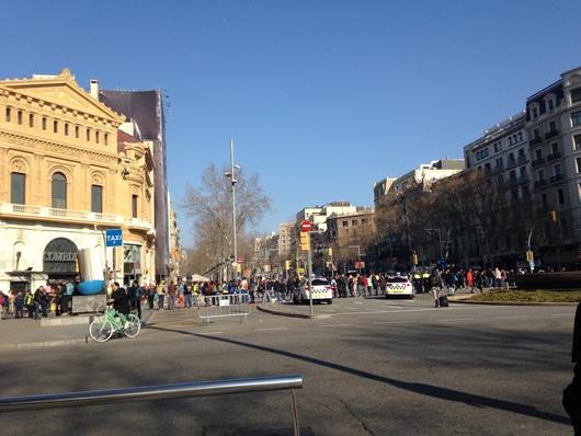 バルセロナマラソンへ☆ Day 2~マラソン大会_e0303431_18553016.jpg