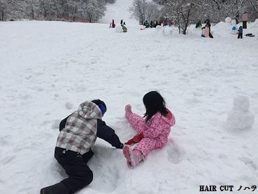雪遊び_e0145332_9464659.jpg