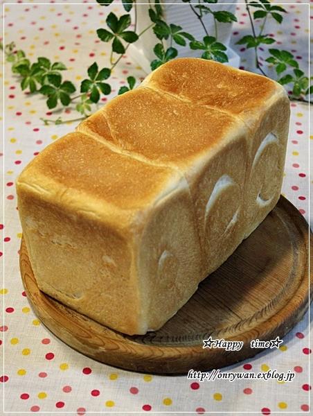 湯種食パンで玉子サンド弁当♪_f0348032_18015701.jpg