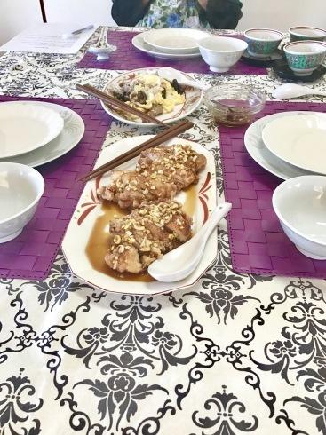 福建焼きそば、油淋鶏、キクラゲと豚肉の炒め物レッスン_a0175348_18412659.jpg