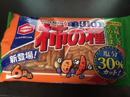 柿の種をめぐる冒険2017・新感覚スナック_b0023663_23212873.jpg