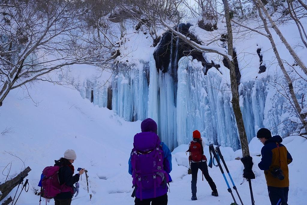 白老の氷瀑見物、2017.2.5-山北沢の滝編-_f0138096_15442120.jpg