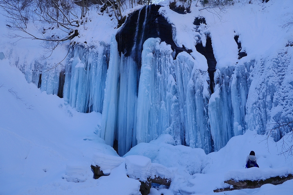 白老の氷瀑見物、2017.2.5-山北沢の滝編-_f0138096_15442158.jpg