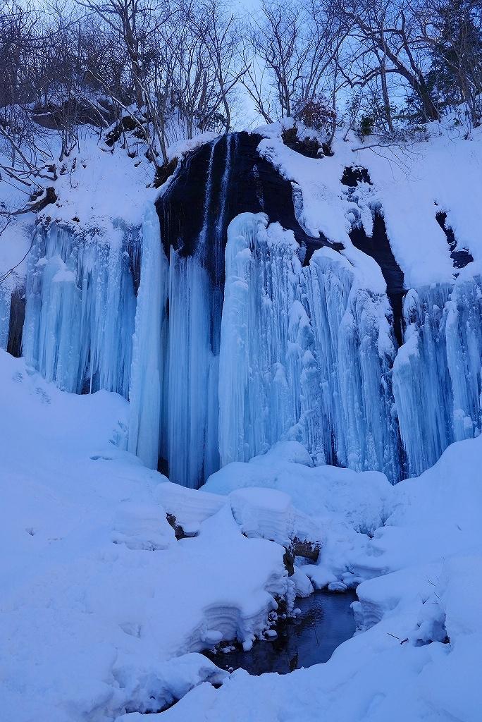 白老の氷瀑見物、2017.2.5-山北沢の滝編-_f0138096_15442376.jpg