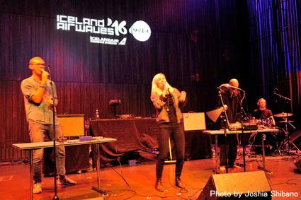 アイスランド・エアウエイブス(4)大人なフェス、ベッドルーム・コミュニティ10周年記念大コンサート&お気に入りアーティストの濃縮日、ライヴ付きヨガも!_c0003620_17424945.jpg