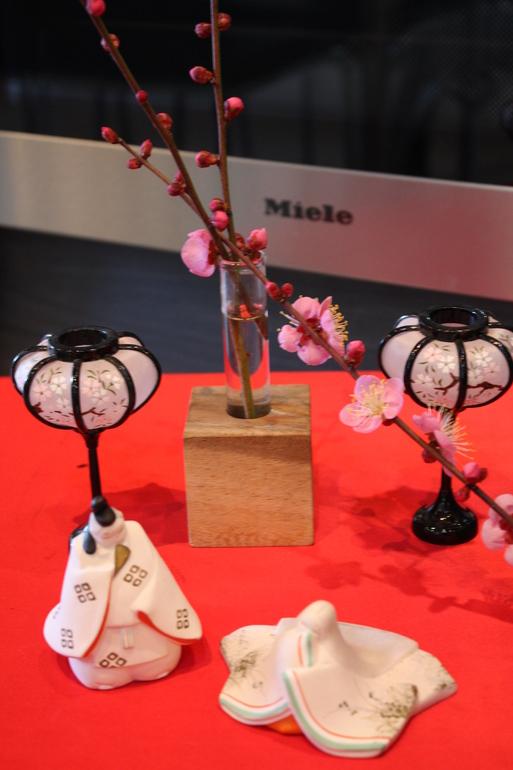 ミーレショップ高松のショールームのひな祭り_a0155290_18391081.jpg
