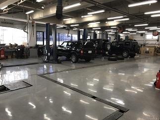 某自動車ディーラー整備工場塗床工事(世田谷区)_c0183605_06555502.jpg