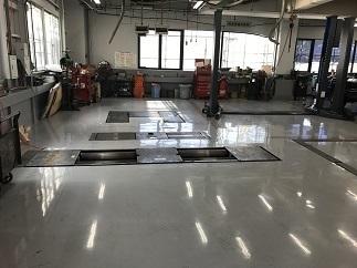 某自動車ディーラー整備工場塗床工事(世田谷区)_c0183605_06561994.jpg