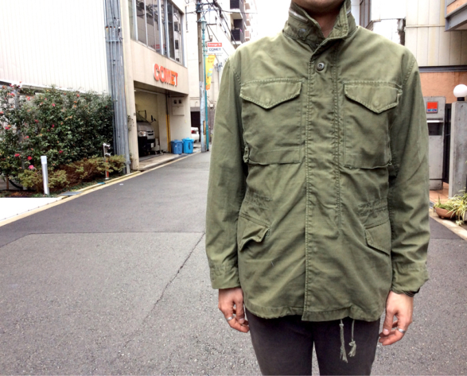 「 REMAKE M-65 FIELD JACKET×3 」_c0078333_18362879.jpg