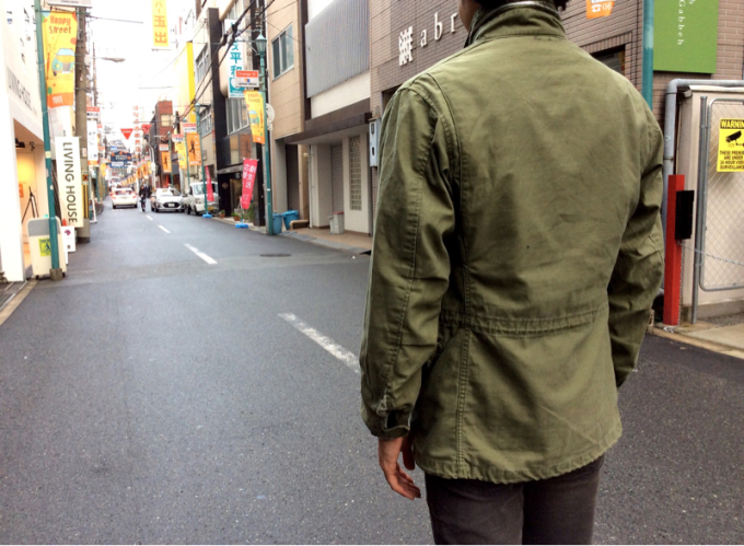 「 REMAKE M-65 FIELD JACKET×3 」_c0078333_18362924.jpg