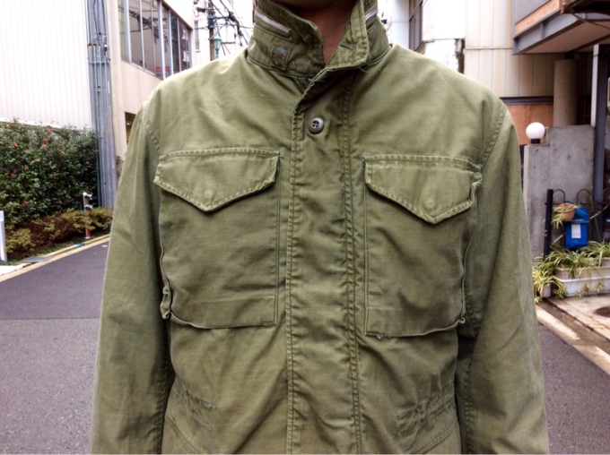 「 REMAKE M-65 FIELD JACKET×3 」_c0078333_18362988.jpg