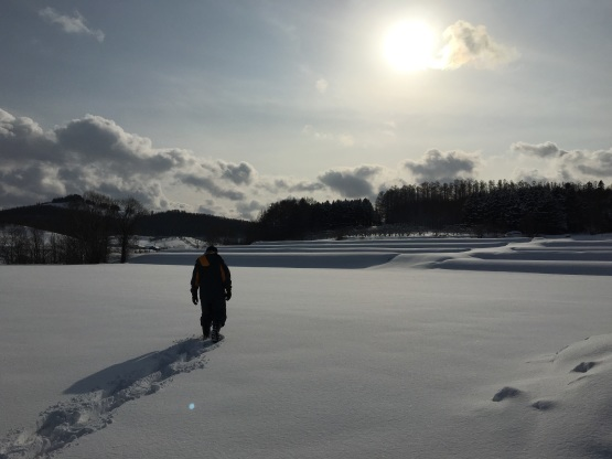 雪遊び!_a0356060_12405325.jpg