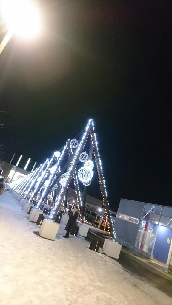 函館駅前のイルミネーション_b0106766_21075601.jpg