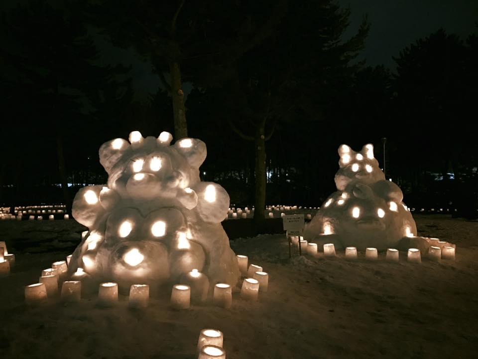 もりおか雪あかり2017始まりました〜11日まで_b0199244_10123635.jpg