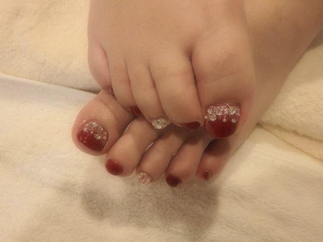 Red Foot Nail_a0239065_16360301.jpg