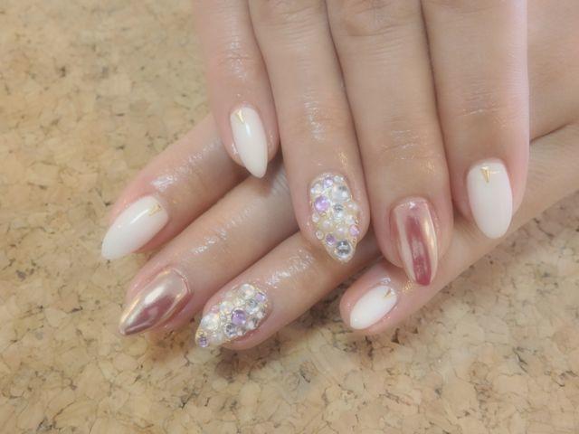 Pink Nail_a0239065_16553146.jpg