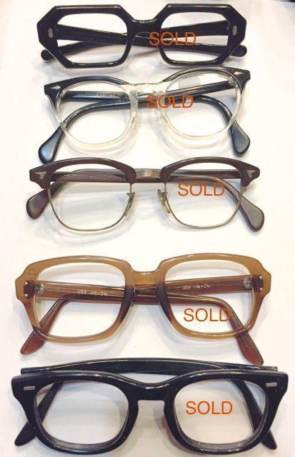 1月28日(土)入荷!60s〜ビンテージ 眼鏡フレーム アメリカンオプティカルなど・・。_c0144020_18541527.jpg