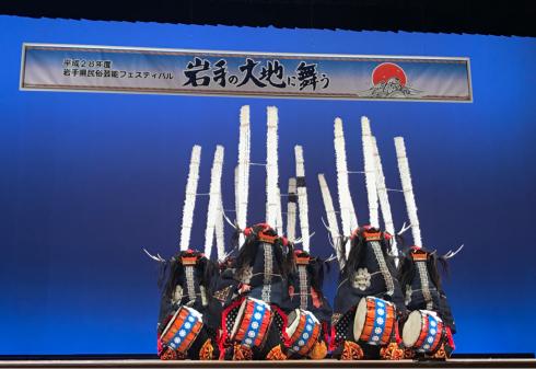 岩手県民俗芸能フェスティバル!_b0199244_12594514.jpg