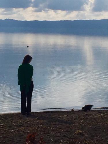 ボルセーナ湖 Lake Bolsena トラットリアPalomba美味しい!チヴィタ・ディ・バーニョレージョ おすすめ!イタリア珍道中2日目 オルヴィエート最後の夜!!!_f0355367_23182822.jpg