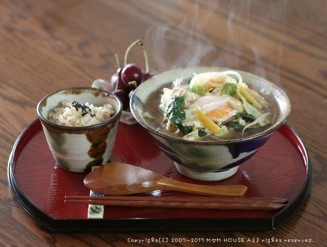 THE沖縄みそ汁(๑¯﹃¯๑)♪_c0139375_148225.jpg