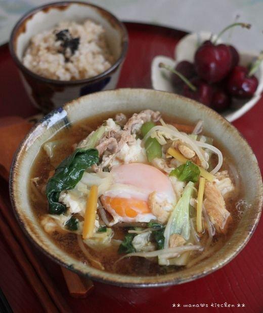 THE沖縄みそ汁(๑¯﹃¯๑)♪_c0139375_1485572.jpg