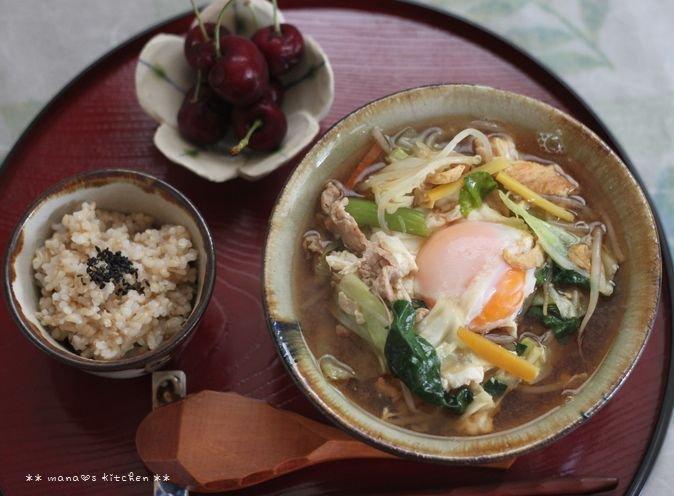 THE沖縄みそ汁(๑¯﹃¯๑)♪_c0139375_1491736.jpg