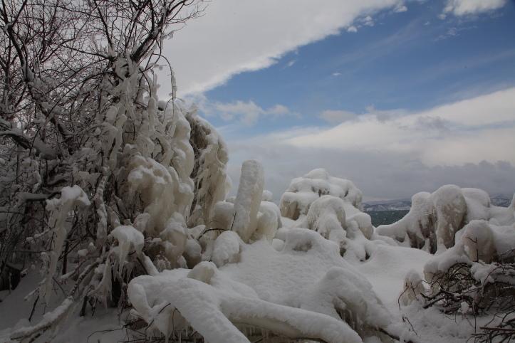 会津 猪苗代湖のしぶき氷 その1_e0165983_17201920.jpg