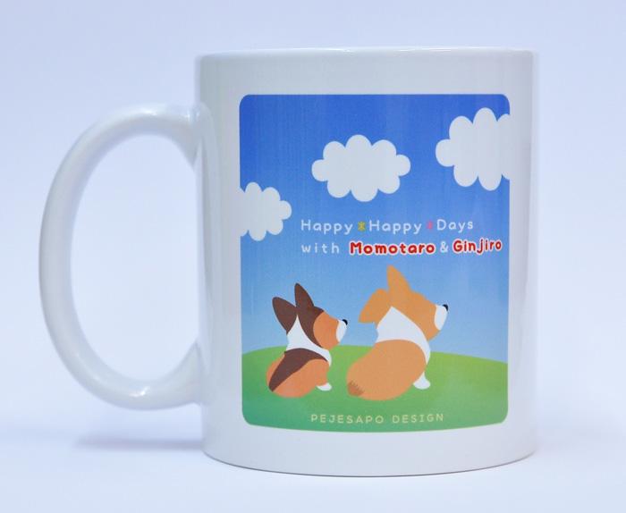 桃太郎くん・銀時朗くんマグカップ_d0102523_20383749.jpg