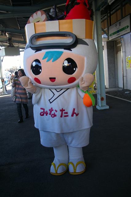 千倉駅でのイベント(DL勝浦)_b0283432_2174427.jpg